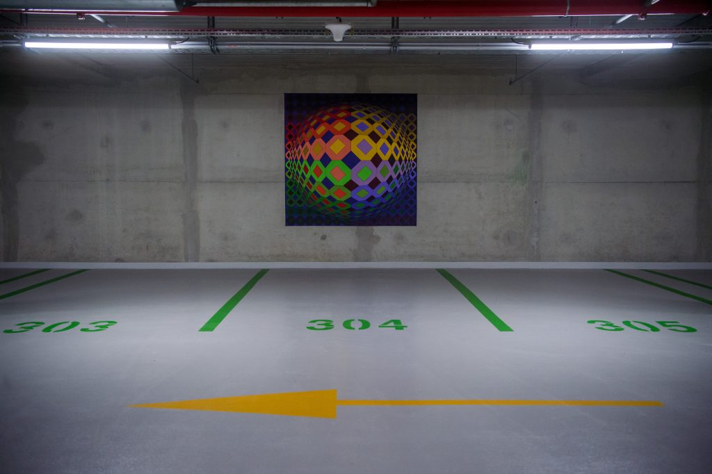 Paintings in a 3-level Underground Garage: Museum of Fine Arts' Car Park Inaugurated post's picture