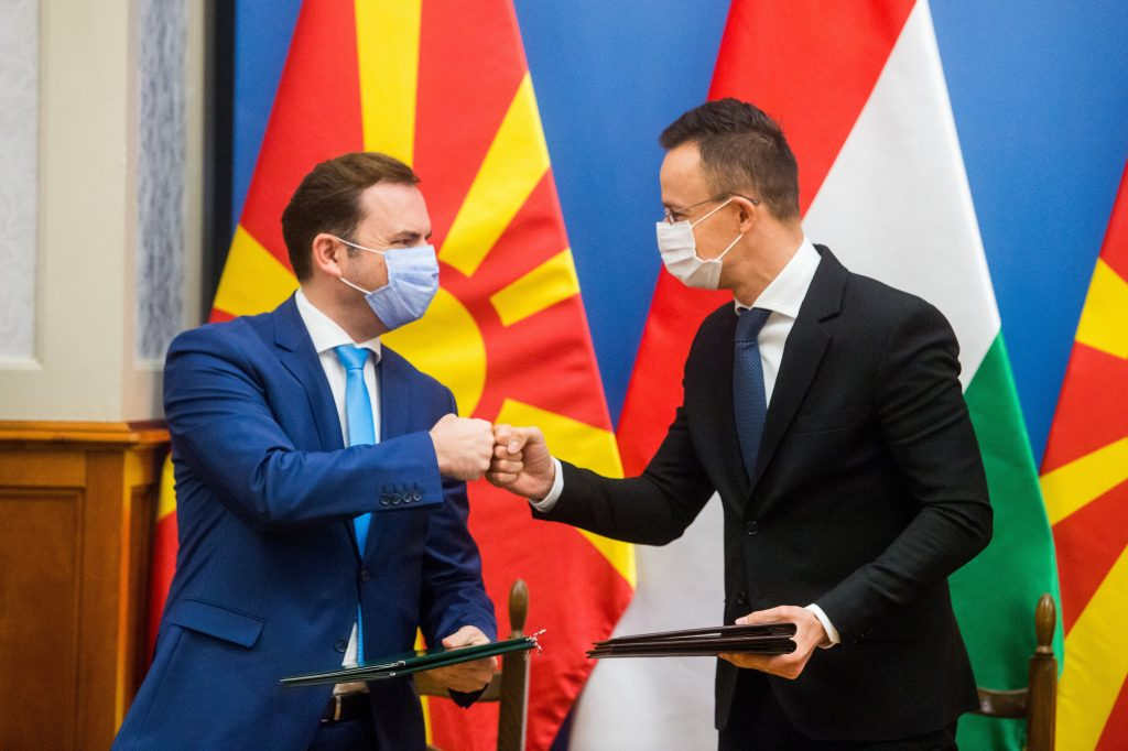FM Szijjártó Urges EU to Accelerate North Macedonia's Integration post's picture