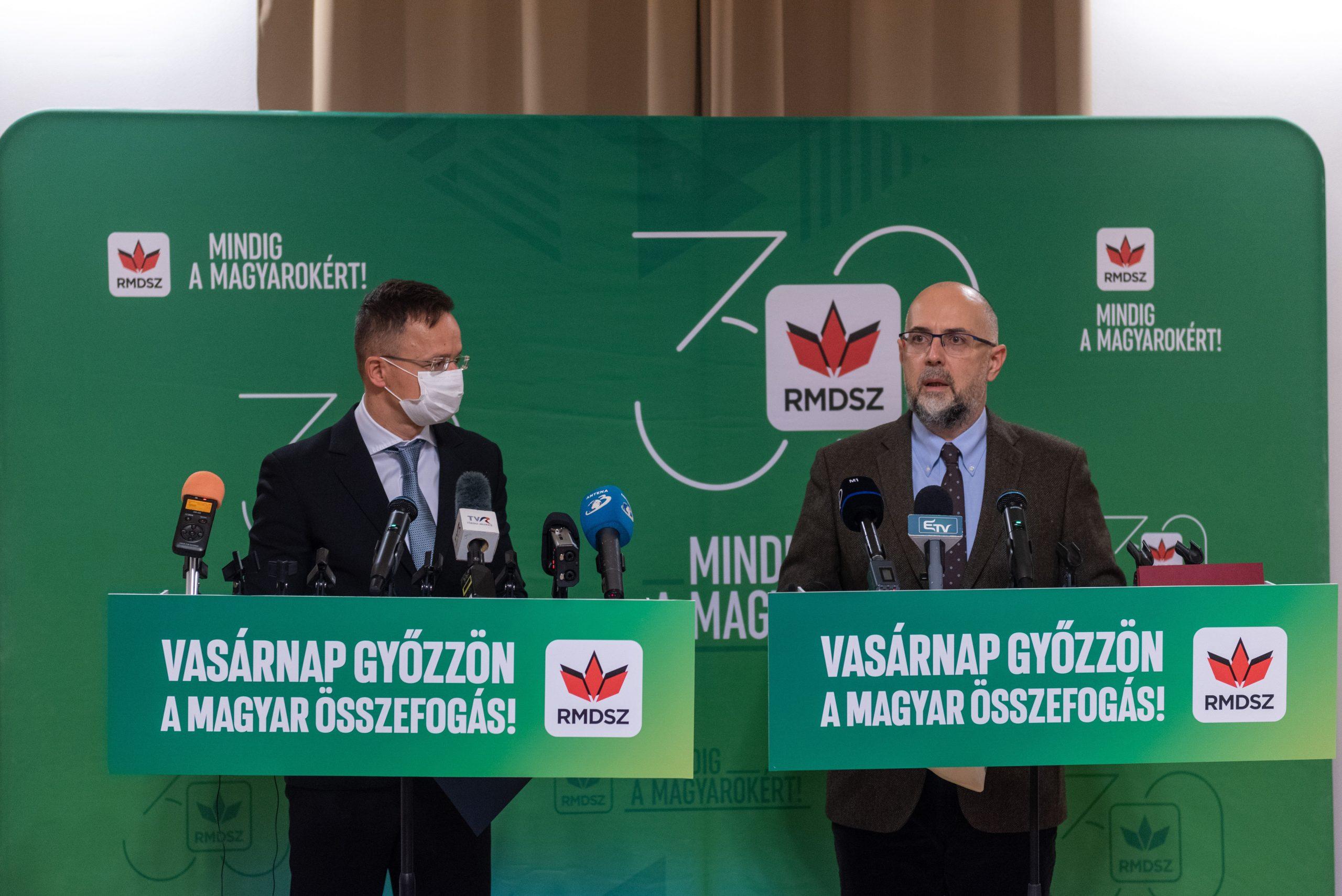 FM Szijjártó: Stronger RMDSZ Presence in Romania Parlt Would Help Bilateral Ties