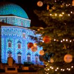Advent in Pécs: Former Mosque Now Unique Church Decorated with Light Installation