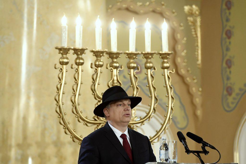 PM Orbán Greets Jewish Community on Hanukkah post's picture