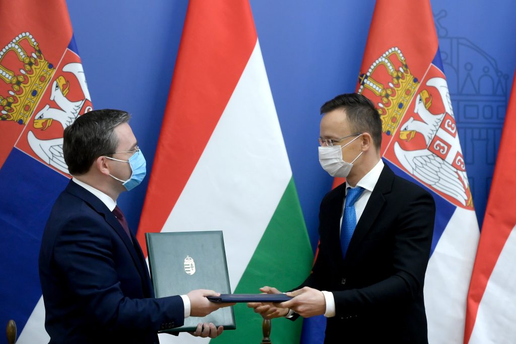 Foreign Minister Szijjártó Praises Ties with Serbia post's picture