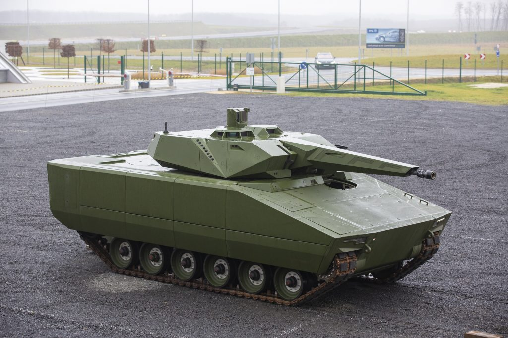 Cornerstone Laid for Plant to Make Lynx Armoured Fighting Vehicles post's picture