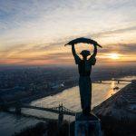 Sky Above Budapest Broadcast to Mark Summer Solstice on Yoko Ono's Initiative