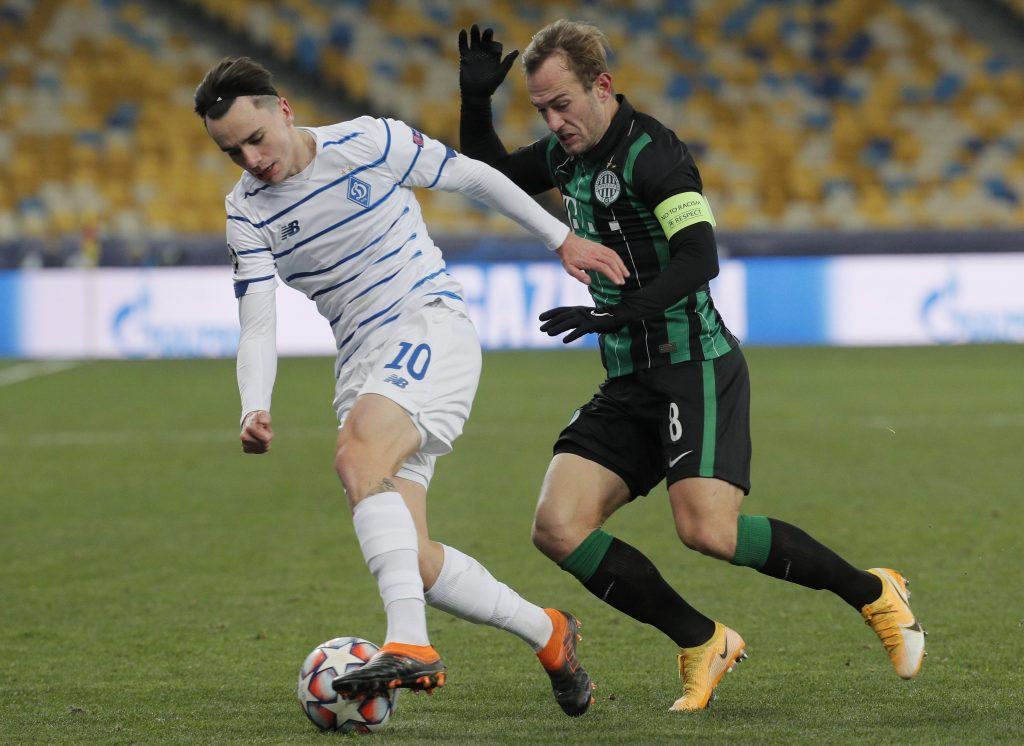 Ferencváros Misses Chance to Play in Europa League by Losing in Kyiv post's picture