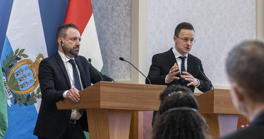 FM Szijjártó: San Marino to Accept Hungarian Immunity Certificates post's picture