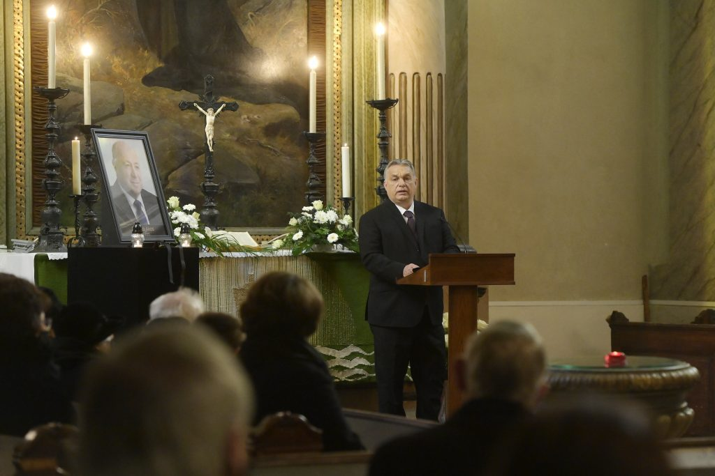 Orbán Attends Funeral of Former Miskolc Mayor post's picture