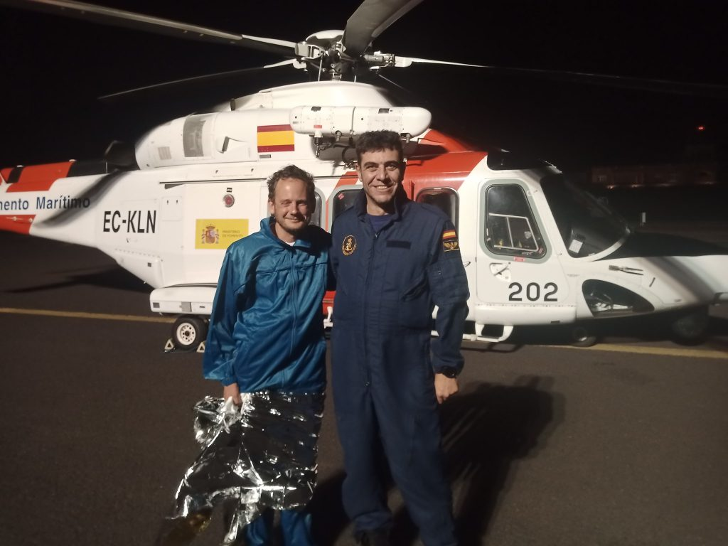 Hungarian Athlete Ends Transatlantic Trip After Near-Death Experience post's picture