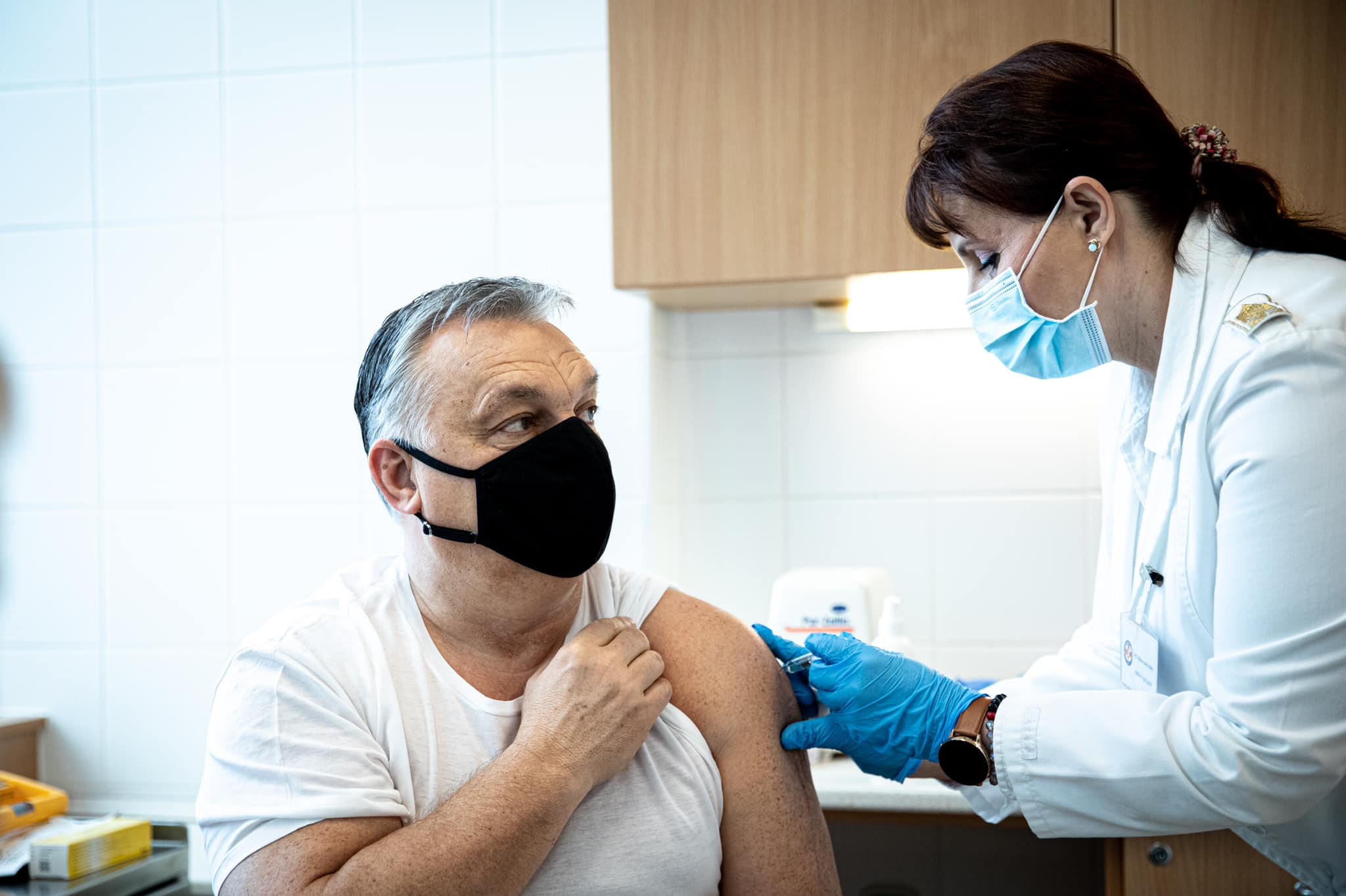 PM Orbán Receives Sinopharm Jab, Asks Hungarians to Get Vaccinated