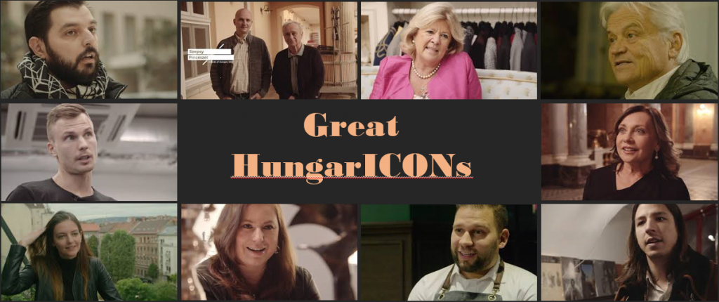 Advertisement for: Great HungarICONs