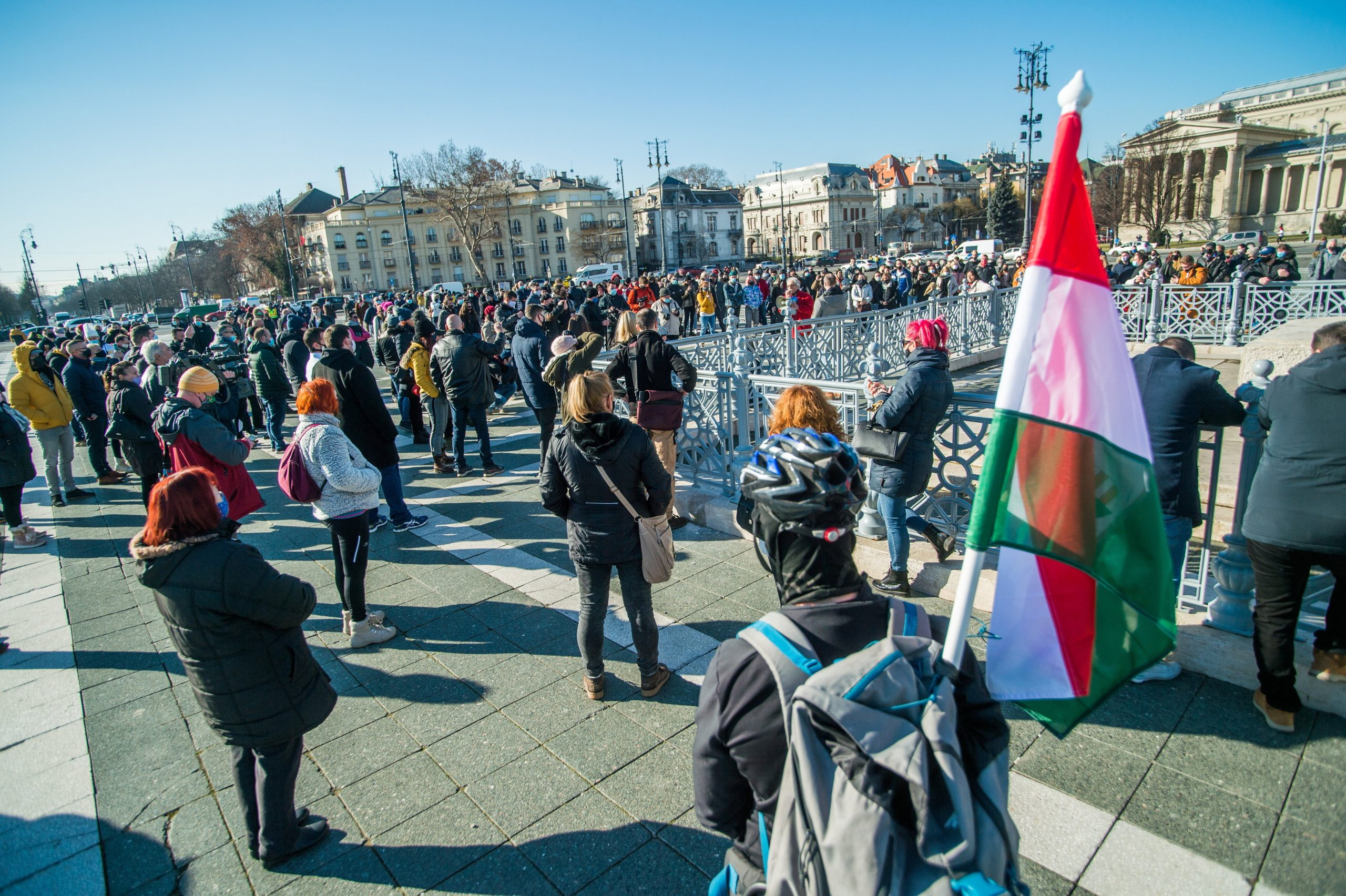 Caterers Continue to Protest against Restrictions