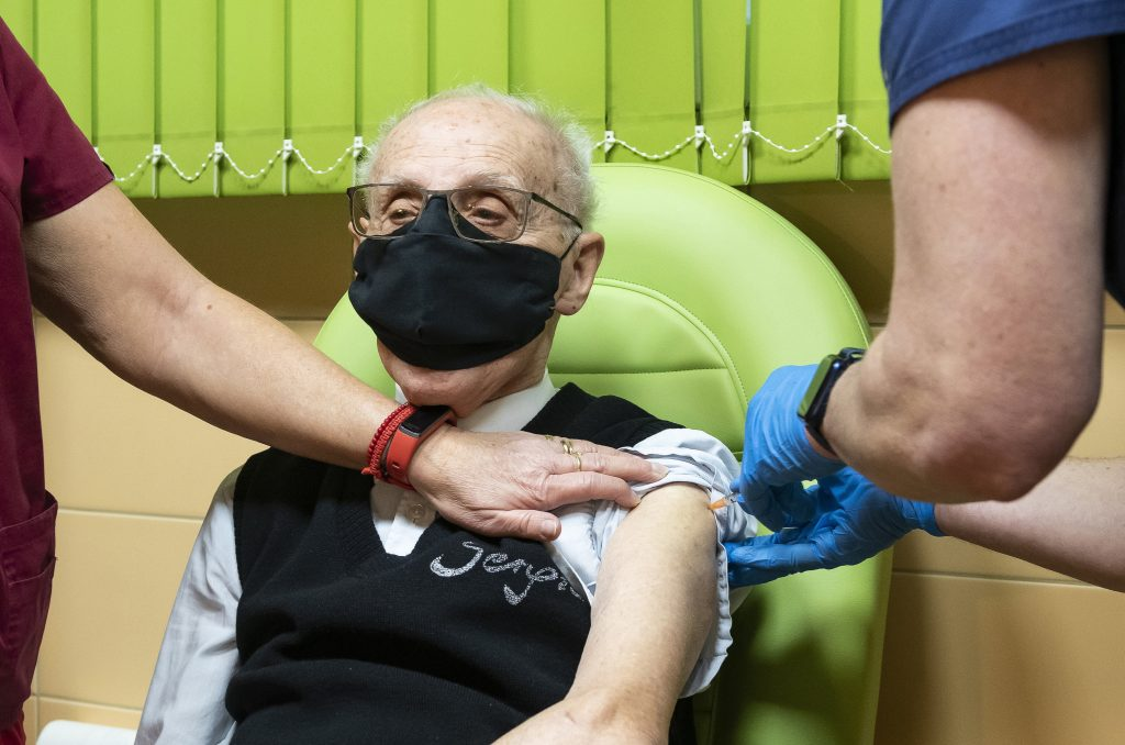 Budapest Elderly Care Homes Develop Herd Immunity After Vaccination post's picture