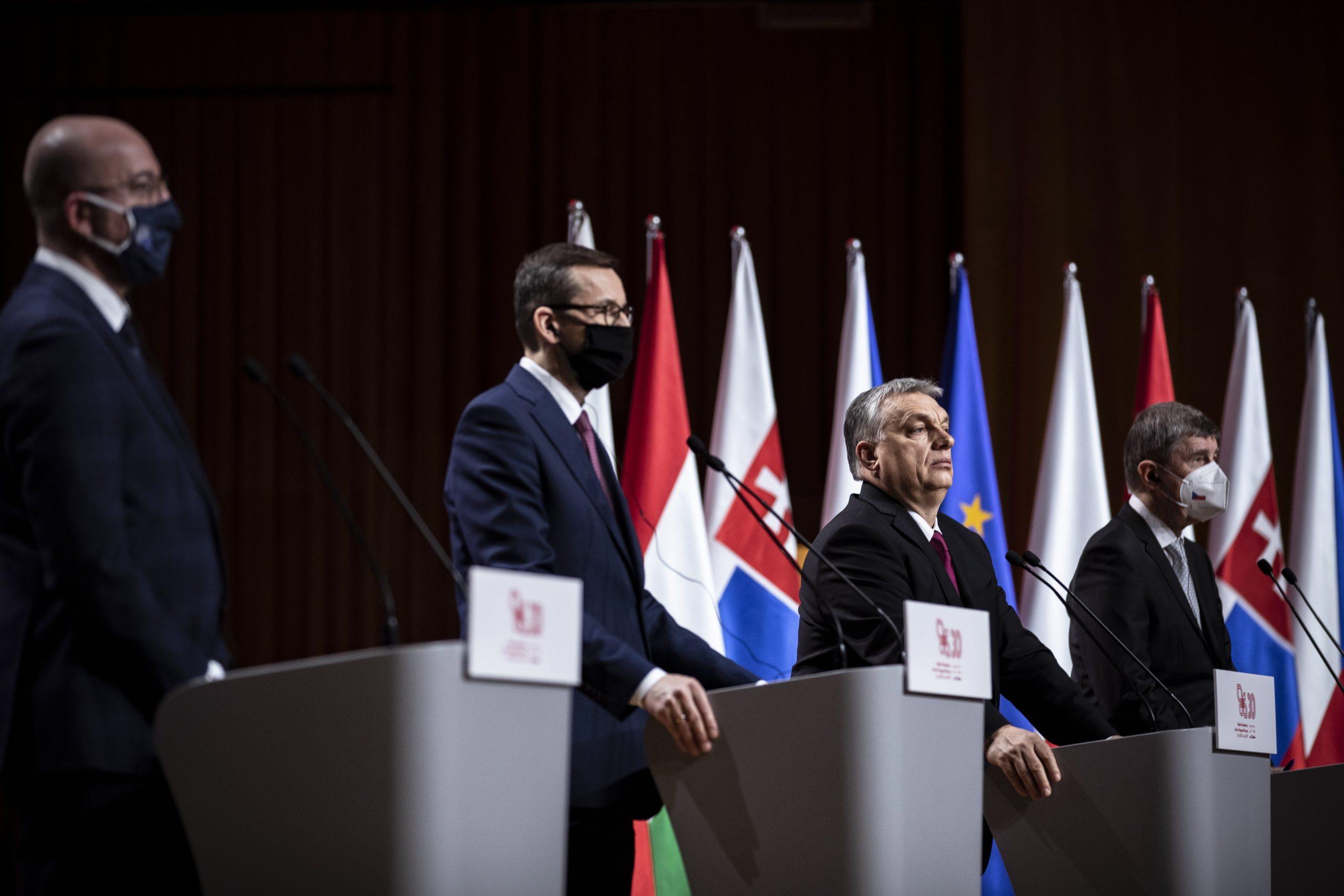 PM Orbán: Unity Key to V4's Success