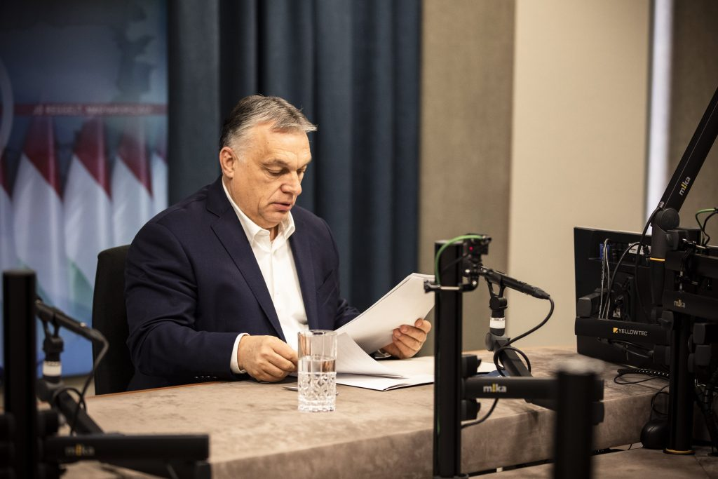 Orbán: Restrictions Could Only Slow Down Covid, Vaccination Only Way to Stop Virus post's picture