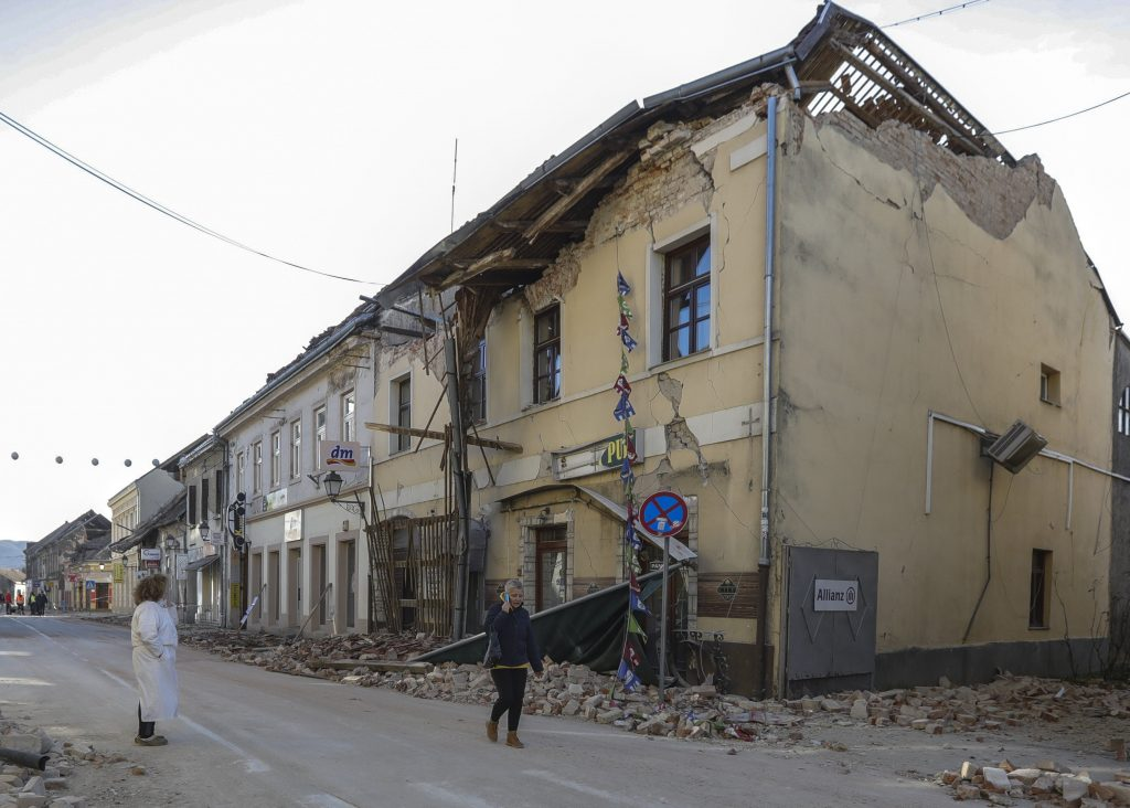 Govt Delivers Charity Donations to Croatian Earthquake Victims post's picture