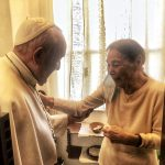 Pope Francis Visits Hungarian Holocaust Survivor