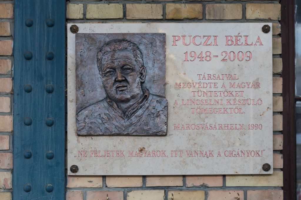 BP Mayor Commemorates Roma Who Helped Hungarians in 1990 Pogrom post's picture