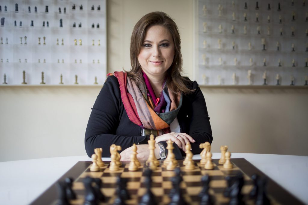 """As a girl, you can perform just as well intellectually as men""- Chess Legend Judit Polgár on Success post's picture"
