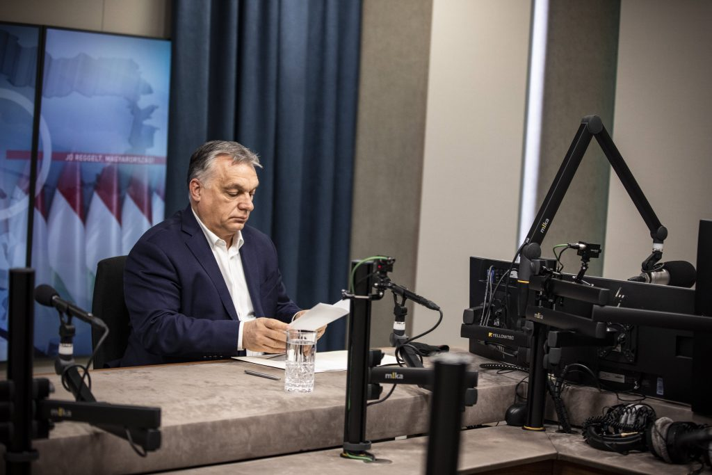 Orbán: Restrictions to Stay in Place for at Least One More Week post's picture