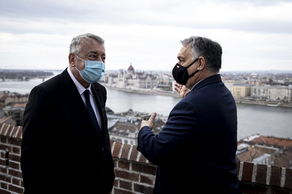 Orbán Holds Talks with Veolia Executives post's picture