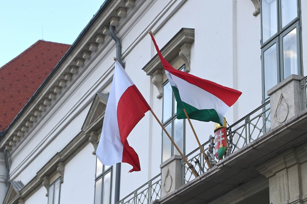 Hungarian-Polish Friendship Day: Polish Flag Raised at Hungarian Parliament post's picture