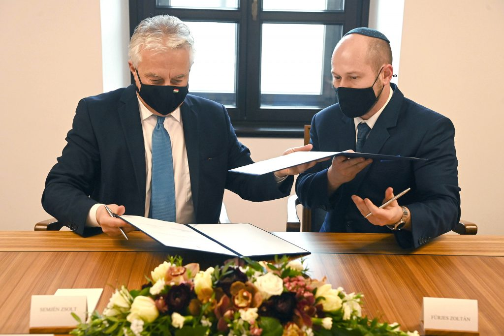 Deputy PM Meets Leaders of New Jewish Org, Signs Agreement on Support post's picture