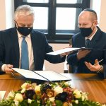 Deputy PM Meets Leaders of New Jewish Org, Signs Agreement on Support