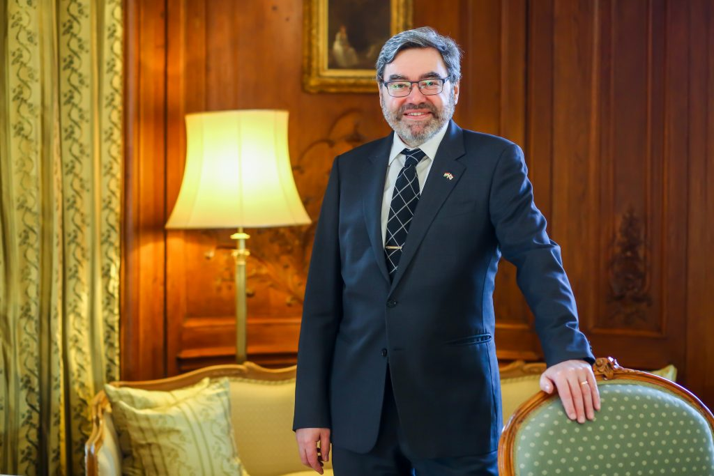 Puskás, Lángosh, Communism, Brexit, and Climate Change – Interview with Paul Fox, the New UK Ambassador to Hungary post's picture