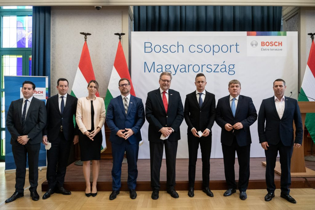 Bosch Building HUF 6 Bn Regional Service Centre in Vecsés post's picture