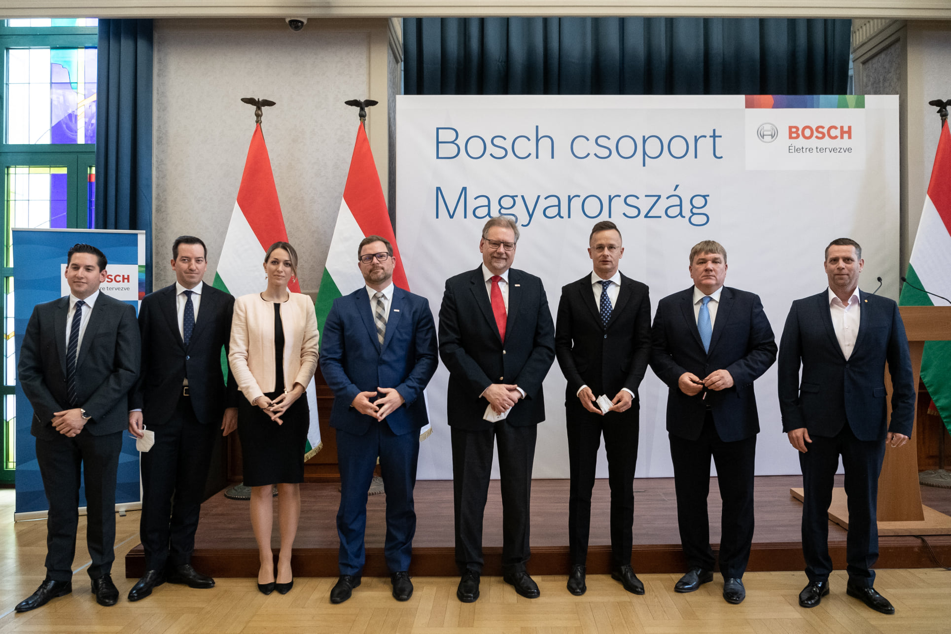 Bosch Building HUF 6 Bn Regional Service Centre in Vecsés
