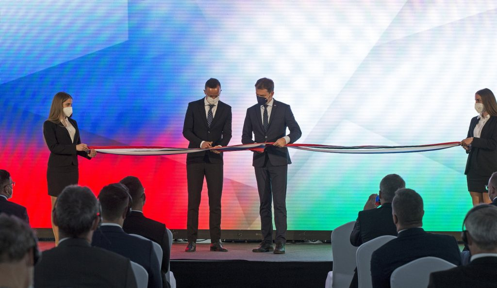 Power Line Traversing Hungary and Slovakia Inaugurated by Foreign Ministers post's picture