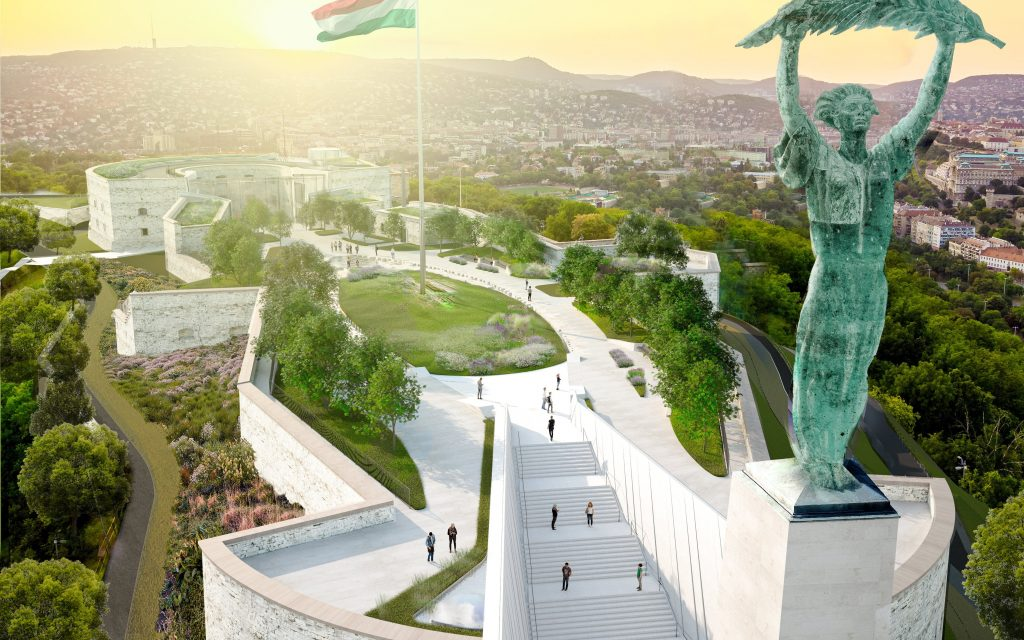 Plans Shared for Reconstruction of Budapest's Gellért Hill Citadella post's picture