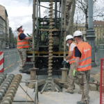 Construction of Budapest's New Metro Line Starts with Exploratory Drillings