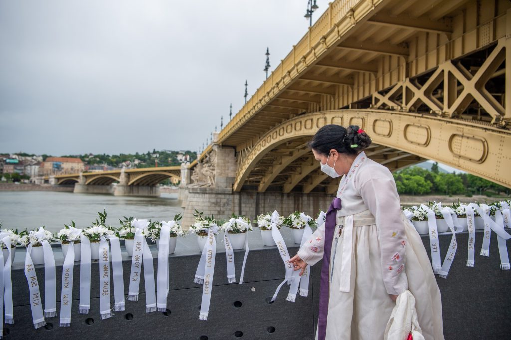 Memorial to Victims of Danube Boat Collision Inaugurated post's picture