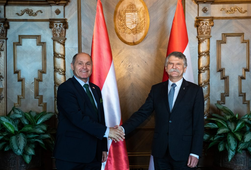 House Speaker Holds Talks with Austrian Counterpart, Covid Certificates on Agenda post's picture