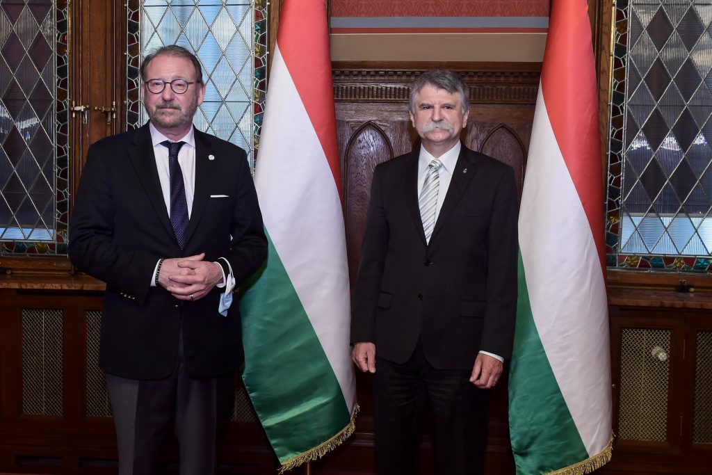 CoE Parlt President Speaks to Hungarian Leaders on Minority Rights post's picture