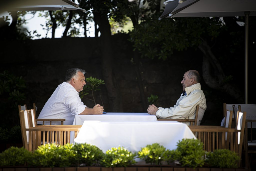 Coronavirus: Orbán and Jansa Discuss Pandemic Measures, Vaccination post's picture