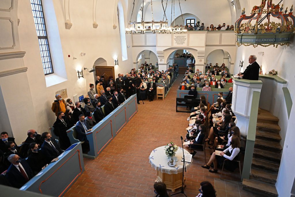 Hungarian State-Renovated Fortified Church in Romania Inaugurated post's picture