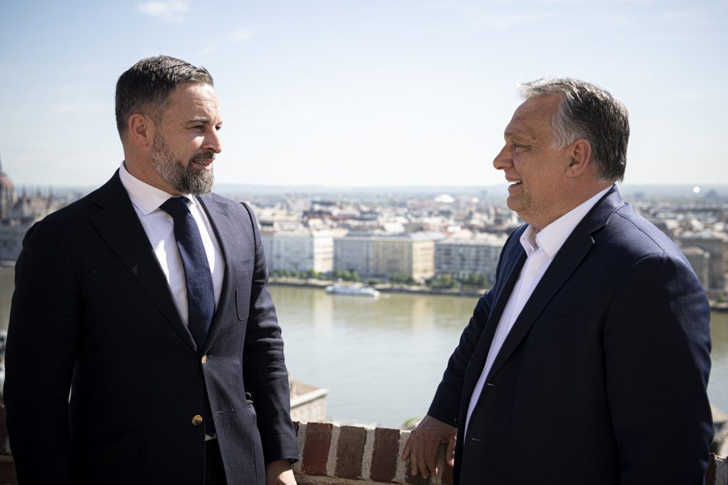 Orbán Holds Talks with Head of Spain's Right-Wing VOX Party post's picture