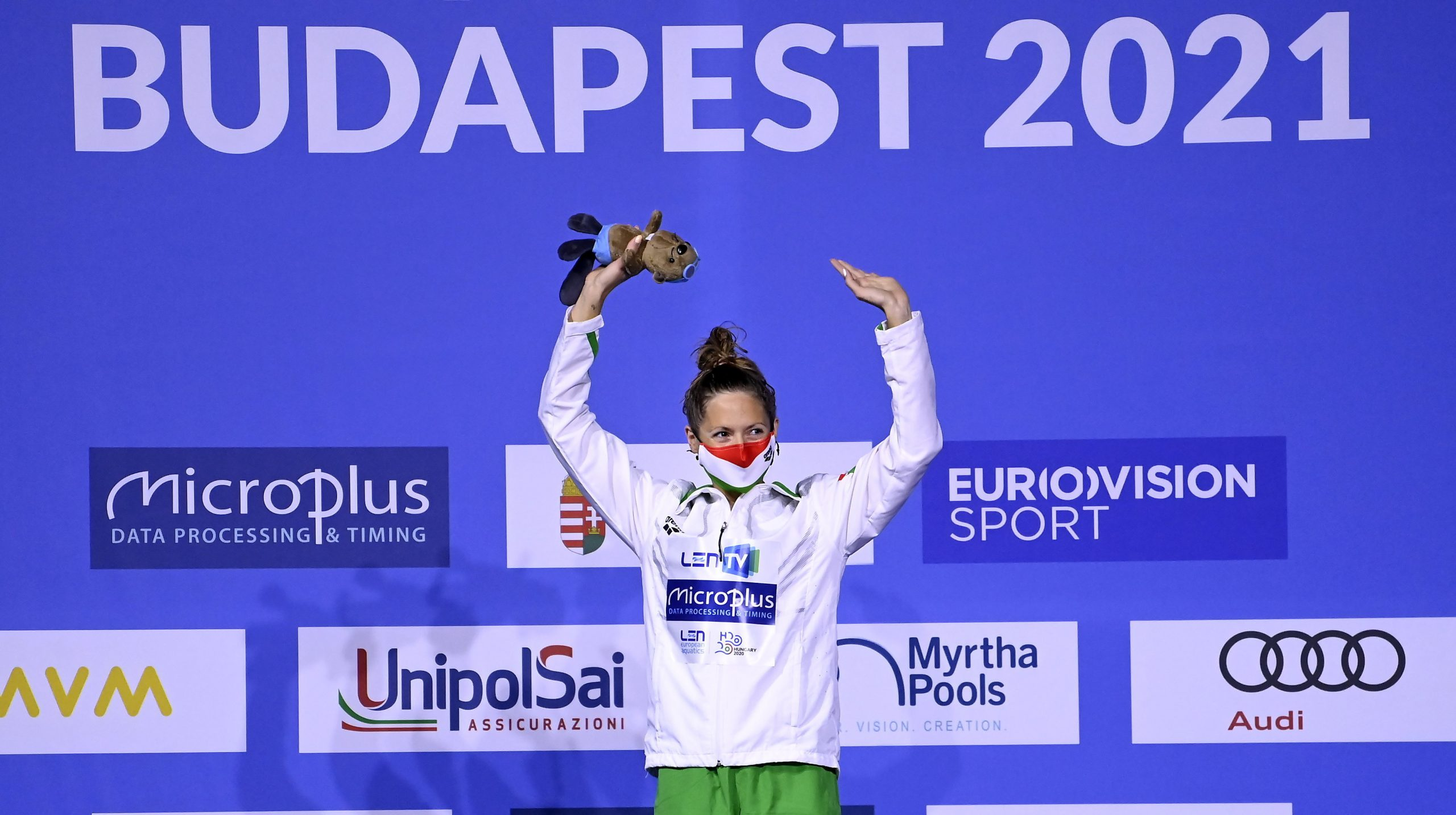 Kapás Wins Hungary's Third Gold at European Aquatics Championships