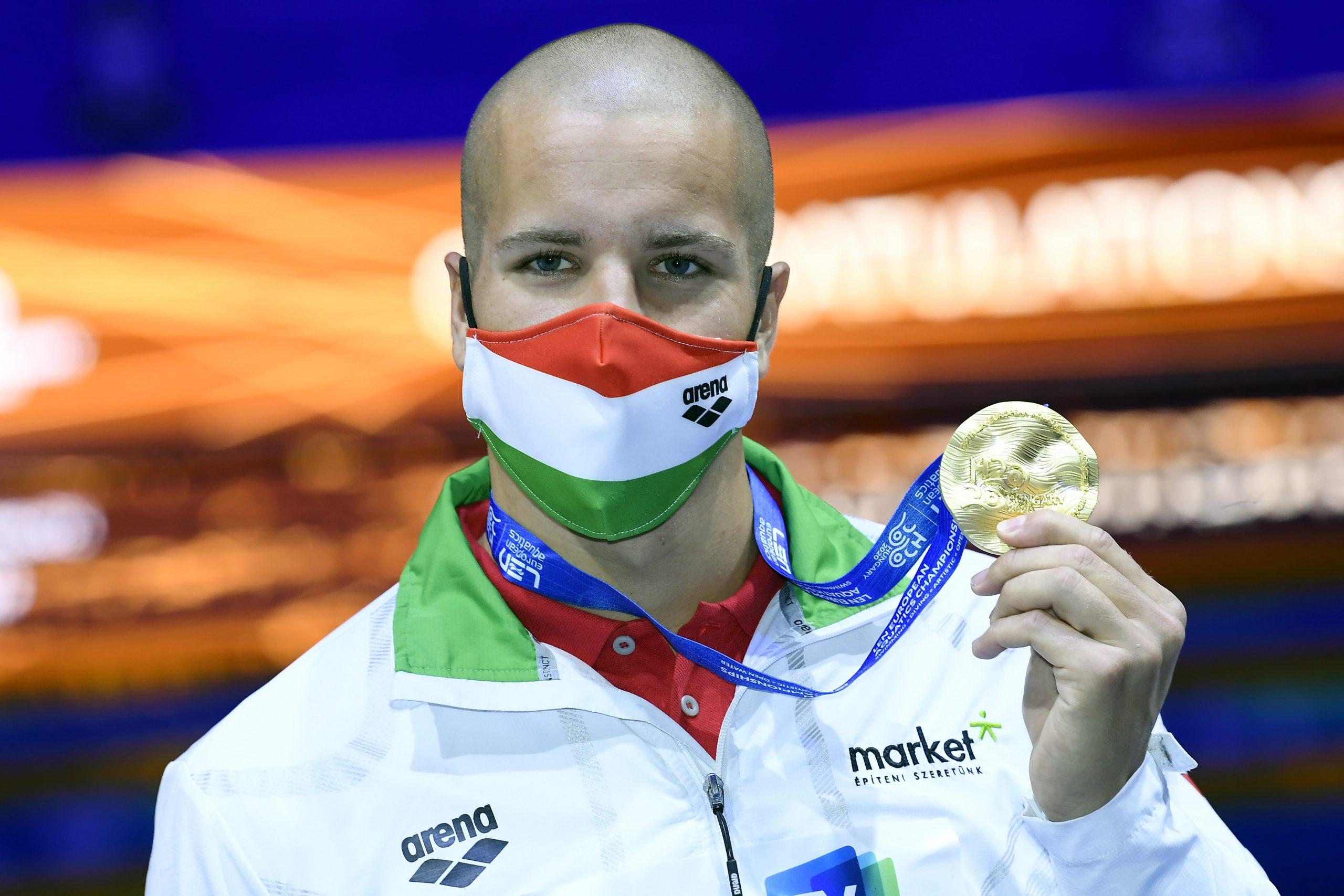 Szabó Wins 50-Meter Butterfly at European Aquatics Championships