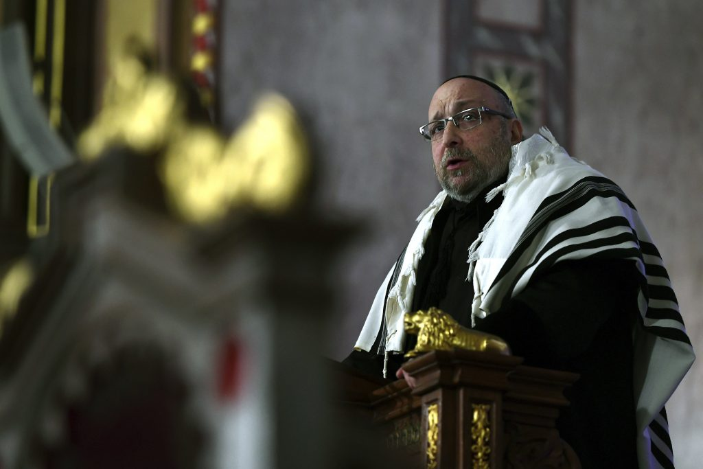Frölich Appointed Hungarian Chief Rabbi post's picture