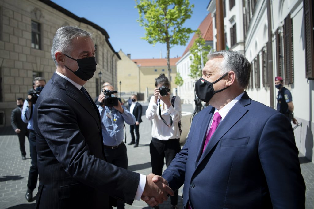 Orbán, Montenegrin President Dukanovic Discuss Mutual Acceptance of Immunity Certificates post's picture