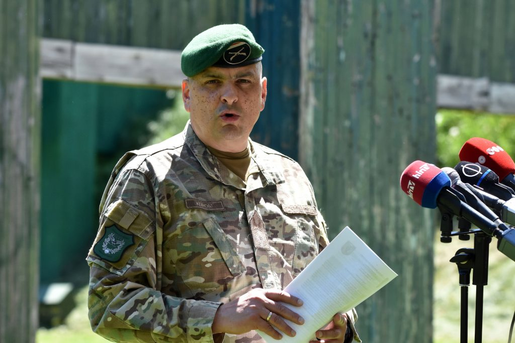 President Relieves Army Commander Korom of Duties post's picture