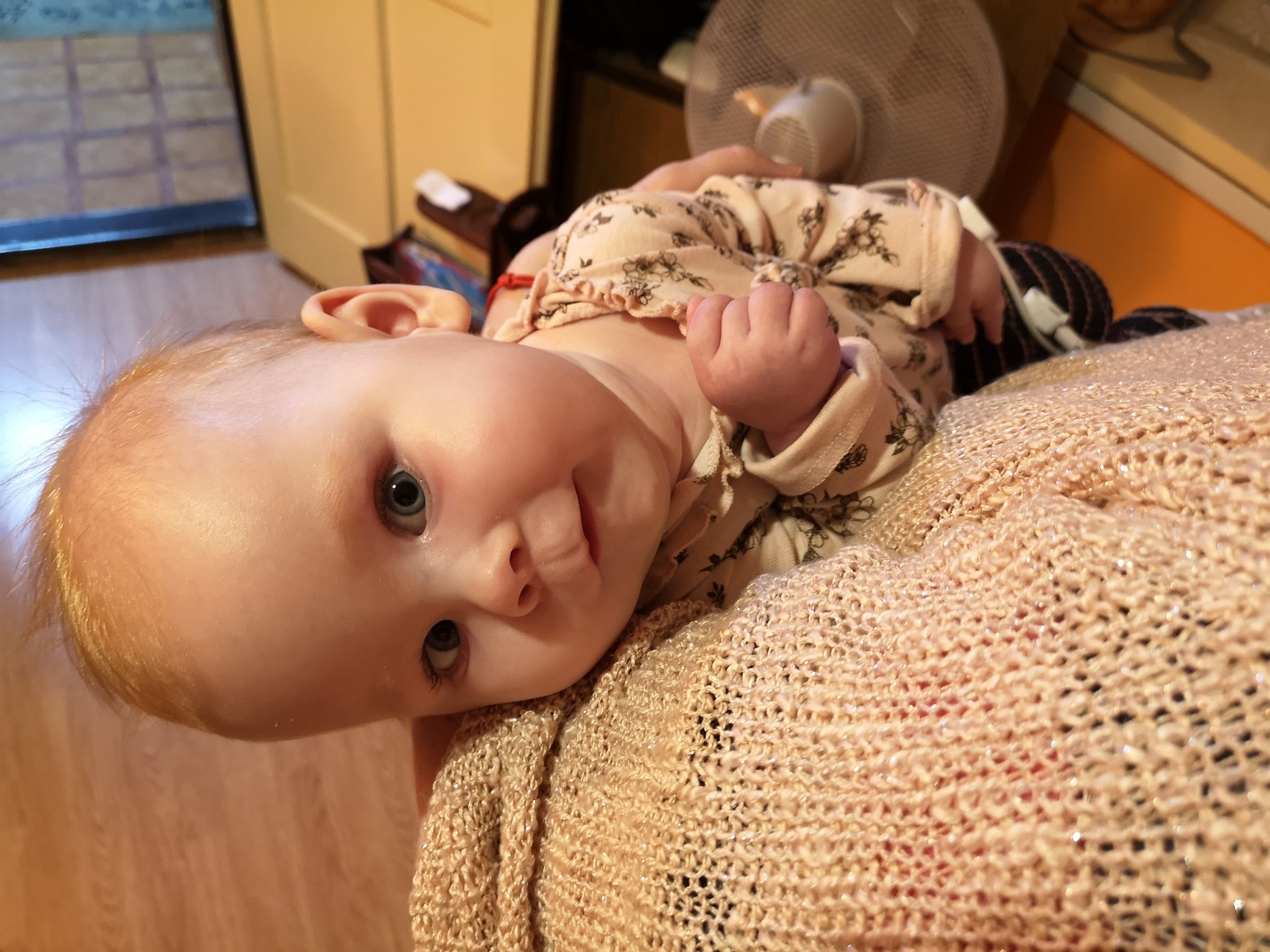 State Funds SMA-Afflicted Child's Treatment for First Time