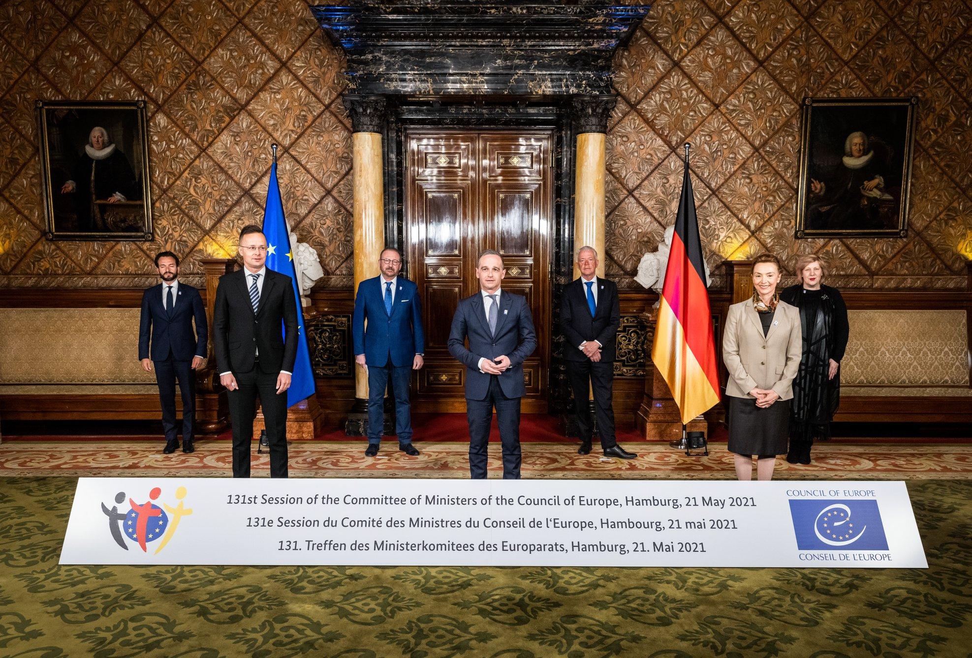FM Szijjártó: Hungary's CoE Presidency Chance for East-West Dialogue