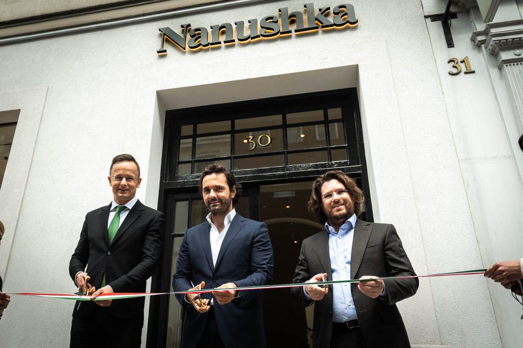 FM Szijjártó at Nanushka London Opening: Hungarian Businesses Crucial post's picture