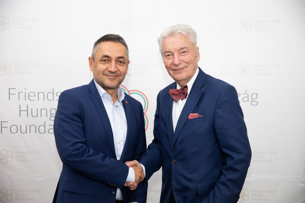 """""""Hungary is a cultural nation built on centuries of cooperation"""" – State Sec Potápi at the Friends of Hungary Online Conference post's picture"""