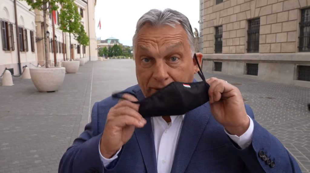 Orbán: 'Goodbye' to Wearing Masks in Public Spaces post's picture