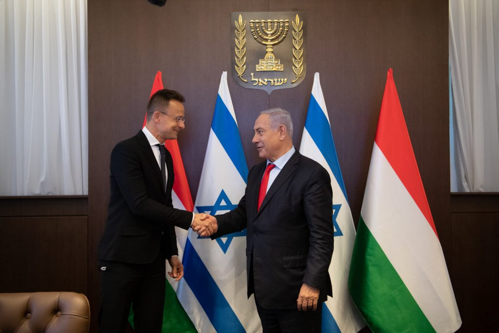Foreign Minister: Hungary Stands by Israel post's picture